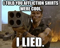 Afflicition